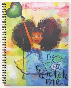 I Can And I Will.. Watch Spiral Notebook