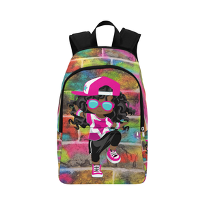 Hip-Hop Girl Backpack