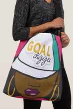 Load image into Gallery viewer, Goal Digger Crossbody Tote Bag