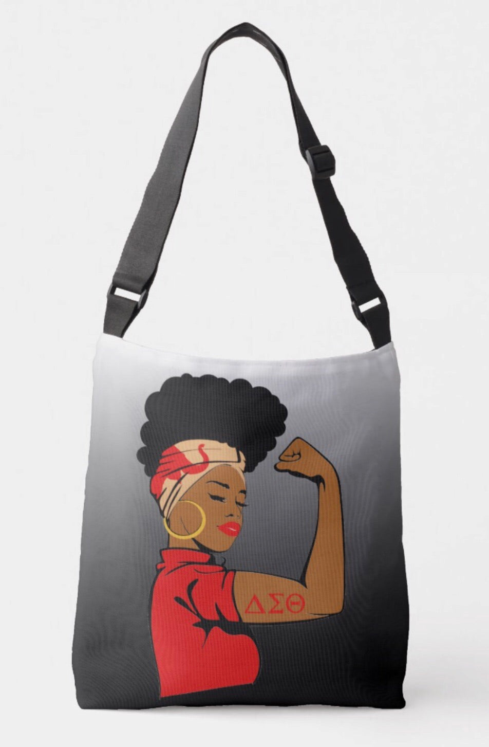 Delta Sigma Theta Strong Crossbody Bag