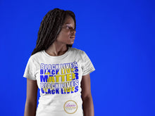 Load image into Gallery viewer, SGRho Black Lives Matter T-shirt