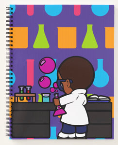 Sam The Scientist Spiral Notebook