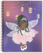 Load image into Gallery viewer, Cocoa Fairy Spiral Notebook (Purple)
