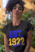 Load image into Gallery viewer, EST. 1922 #IAMHER Sigma Gamma Rho T-shirt