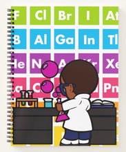 Load image into Gallery viewer, Carter The Chemist Spiral Notebook