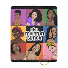 Load image into Gallery viewer, The Melanin Bunch Fleece Blanket