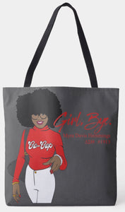 Girl Bye Shoulder Tote Bag
