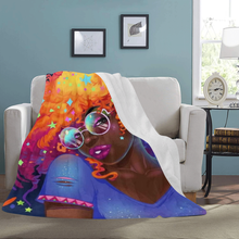Load image into Gallery viewer, The Cosmo Fro Fleece Blanket