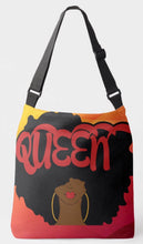 Load image into Gallery viewer, Queen Crossbody Tote Bag (Sunset)