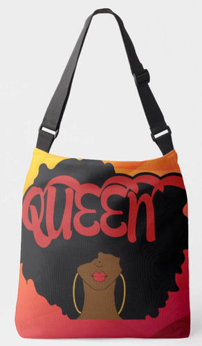 Queen Crossbody Tote Bag (Sunset)