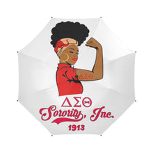 Load image into Gallery viewer, Delta Sigma Theta Strong Umbrella