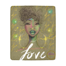 Load image into Gallery viewer, Love Goddess Fleece Blanket