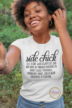 Load image into Gallery viewer, Side Chick Holiday T-shirt