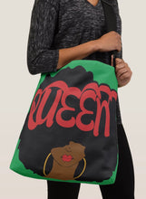 Load image into Gallery viewer, Queen Crossbody Tote Bag