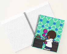 Load image into Gallery viewer, Lance In the Lab Spiral Notebook