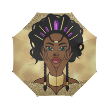 Load image into Gallery viewer, Black Goddess Umbrella