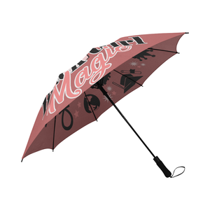 Pink Black Girl Magic Umbrella