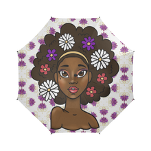 Load image into Gallery viewer, Flower Fro Umbrella