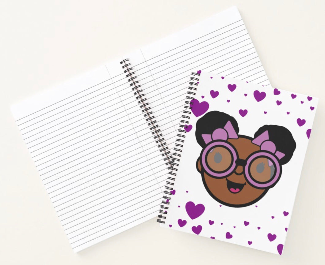 The Joy Of Happiness Spiral Notebook