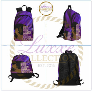 Noire, Ebony, Bronze, Sable, Obsidian, Black Gold Backpack