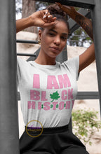 Load image into Gallery viewer, I Am Black History 1908 AKA T-shirt