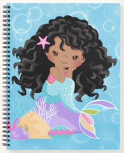 Load image into Gallery viewer, Cocoa Mermaid W/Curls