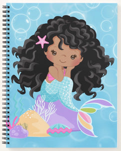 Cocoa Mermaid W/Curls