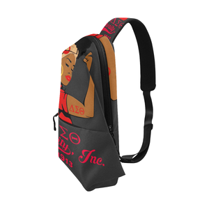 Delta Sigma Theta Strong Chest Bag