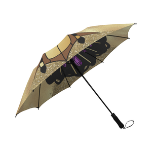 Black Goddess Umbrella