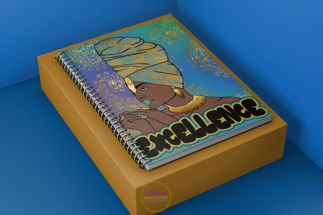 Excellence Spiral Notebook