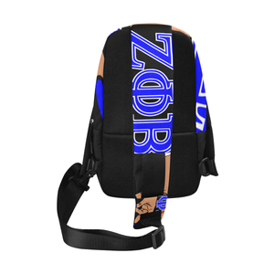 Zeta Phi Beta Hand Sign Chest Bag