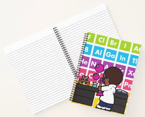 Carter The Chemist Spiral Notebook