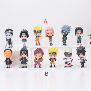 Anime Naruto 6pcs/SET Figures