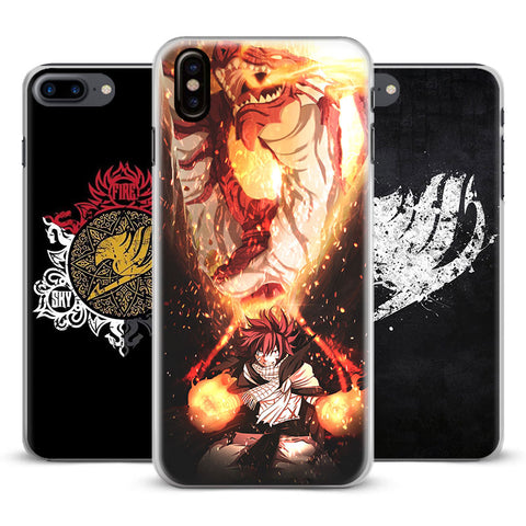 Anime Fairy Tail Natsu Phone Cases for iPhone