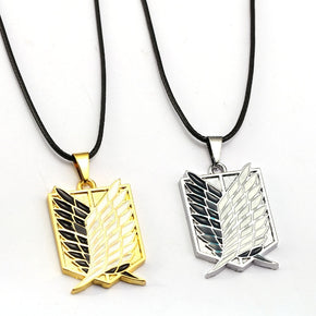 Anime Attack on Titan All Regiments Necklaces