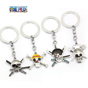 Anime One Piece multiple Keychains