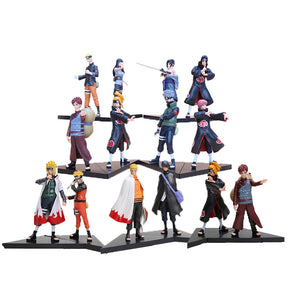 Anime Naruto 15 cm 2pcs/SET Figures