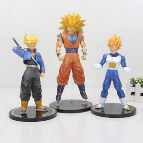 Anime Dragon Ball Z 20-30 cm Figures Goku Trunks Vegeta
