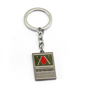 Anime Hunter X Hunter License Keychain