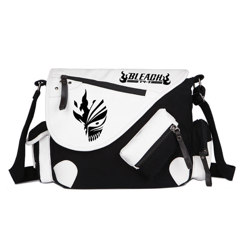 Anime Bleach Death Mask Shoulder Bags