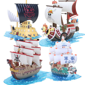 Anime One Piece Thousand Sunny Ships Figures