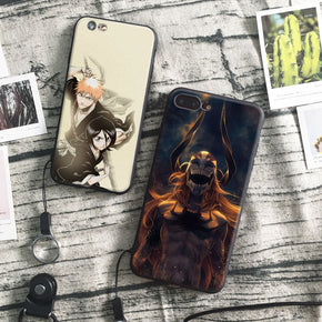 Anime Bleach Ichigo Phone Cases for iPhone With Free Hang Rope