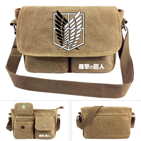 Anime Attack on Titan Shoulder Bag