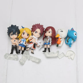 Anime 6pcs/SET Fairy Tail Characters