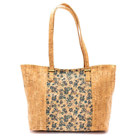 Cork Bag Cork Handbag Vegan Tote Natural Cork Shoulder Purse Women Satchel Eco friendly Leather with Pattern Designs