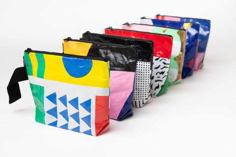 Beautiful, colourful pouches.