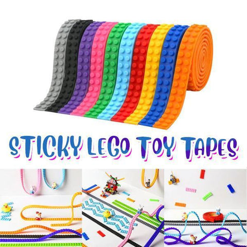 Image of Sticky LEGO Toy Tapes (2PCs) - MEKONGOOD.COM