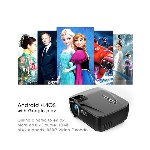 Image of 1200 Lumen Android Projector - MEKONGOOD.COM