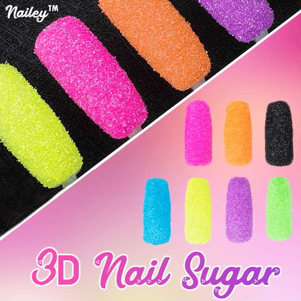 Nailey™ 3D Holographic Nail Sugar - MEKONGOOD.COM