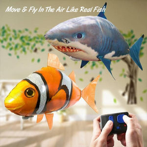 Inflatable Remote Control Flying Air Shark - MEKONGOOD.COM